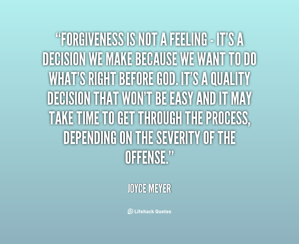 Joyce Meyer Enjoying Everyday Life Quotes Quotes About Forgiveness Joyce Meyer 16 Quotes