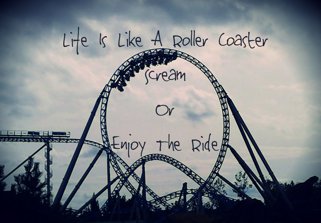 Quotes About Roller Coaster Rides 49 Quotes