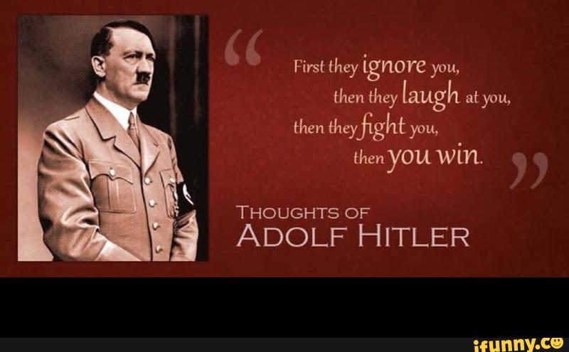 was hitler a great leader or