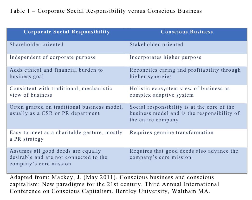 business organization shareholders vs social responsibility