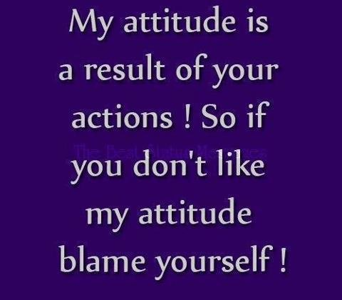 Quotes About Attitude With Images 20 Quotes