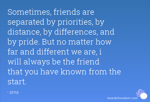 Quotes about Separated by distance (61 quotes)