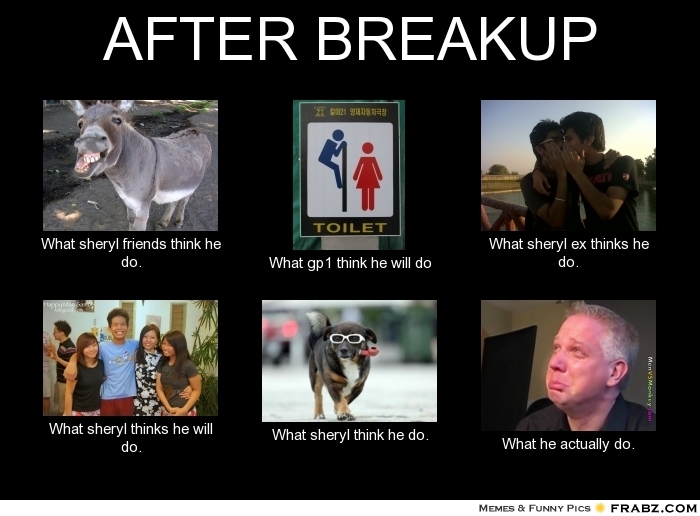 After up break think men what Out Of