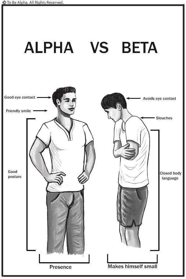 How does an alpha male love