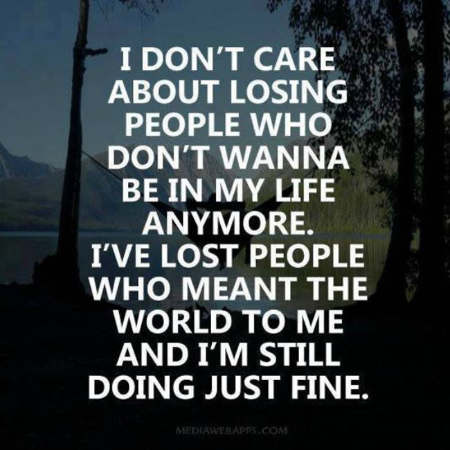 Quotes About Just Not Caring 50 Quotes
