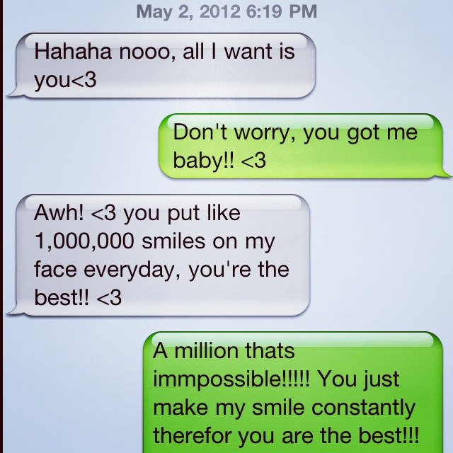 sweet messages to send your boyfriend to make him smile