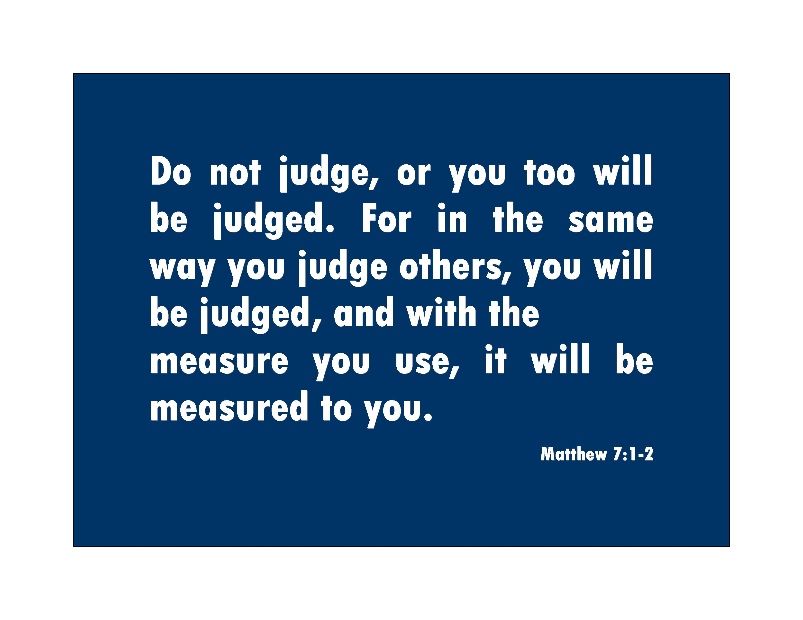 quotes about christ judging quotes