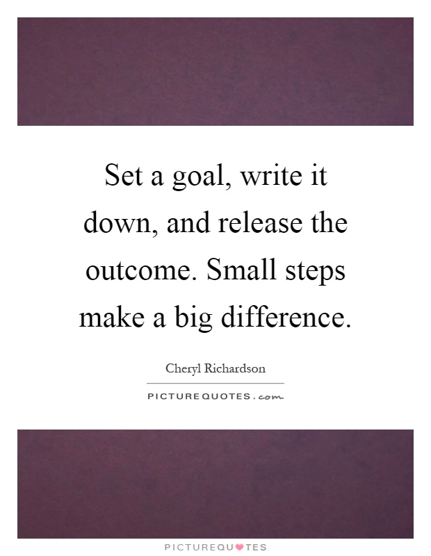 small steps to make the world better essay Can taking small steps towards fuel conservation make a big change can small steps of fuel conservation make a big chance.