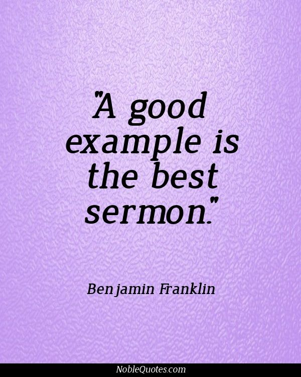 good example is the best sermon A review of the sermon series during my first year at peachtree the word torah is a good example len wilson facebook twitter google.