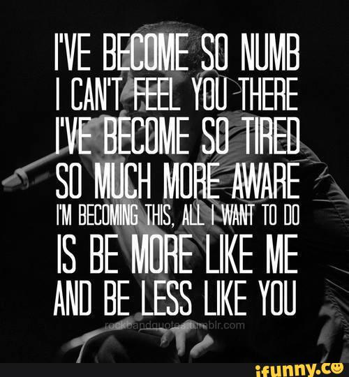 Quotes about Being numb (68 quotes)