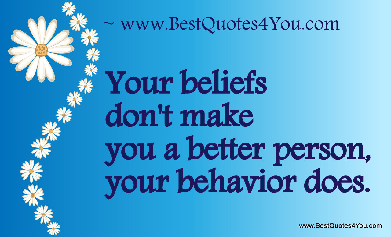 Quotes about Behavior 565 quotes