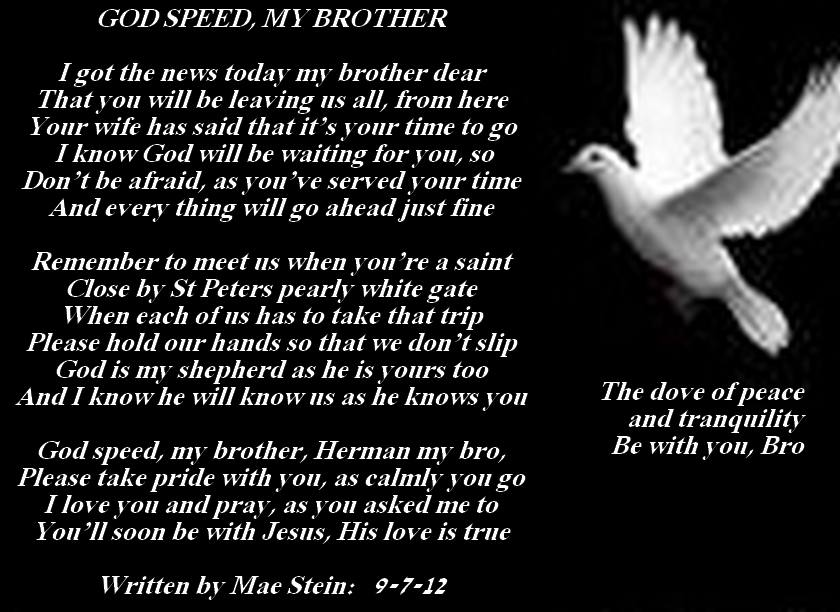 Quotes about Death of a brother (44 quotes)