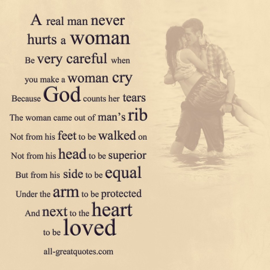 Quotes about Real man love (81 quotes)