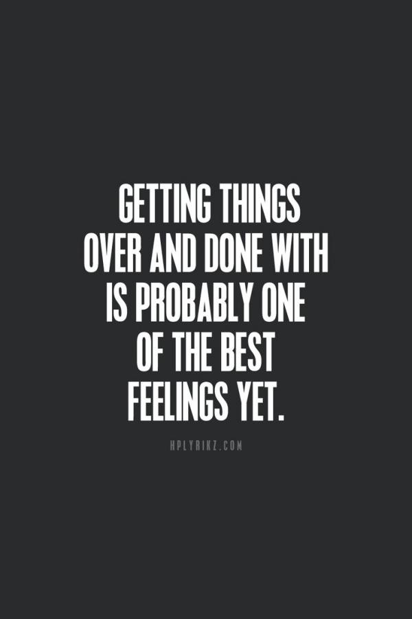 Quotes about feeling relieved