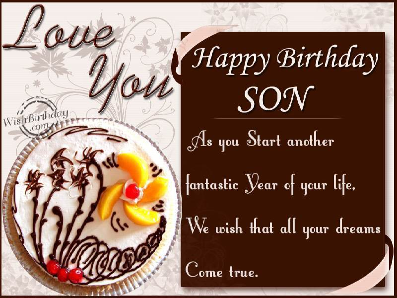 Quotes About Son Birthday 42 Quotes
