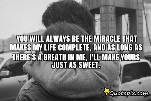 You Complete My Life Quote Wwwimagenesmicom