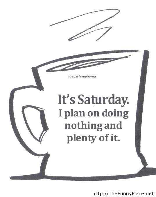 Quotes about Saturday 479 quotes