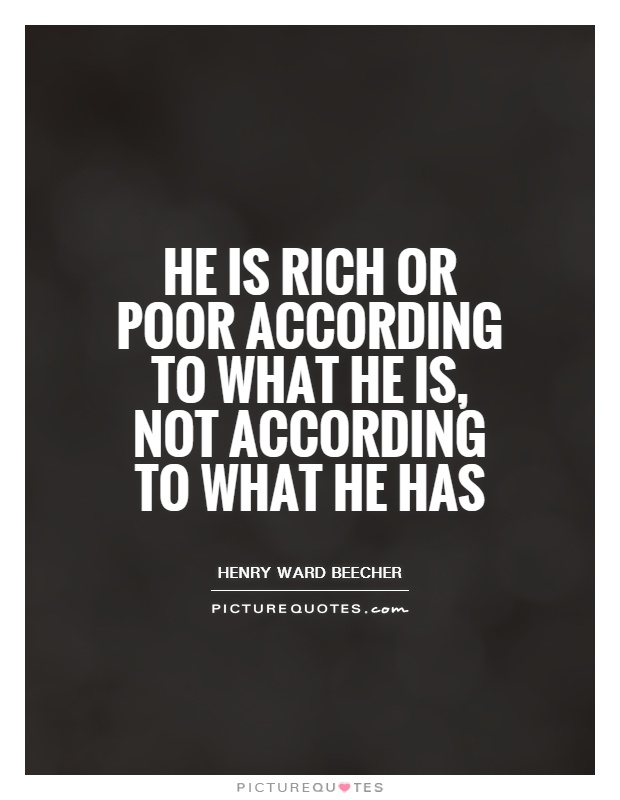 Quotes About Poor Or Rich 96 Quotes