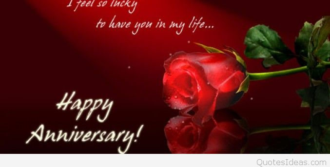 H wedding anniversary