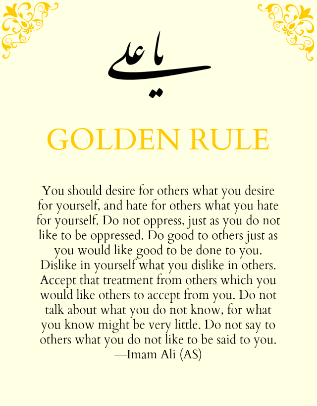 Image result for golden rule quotes