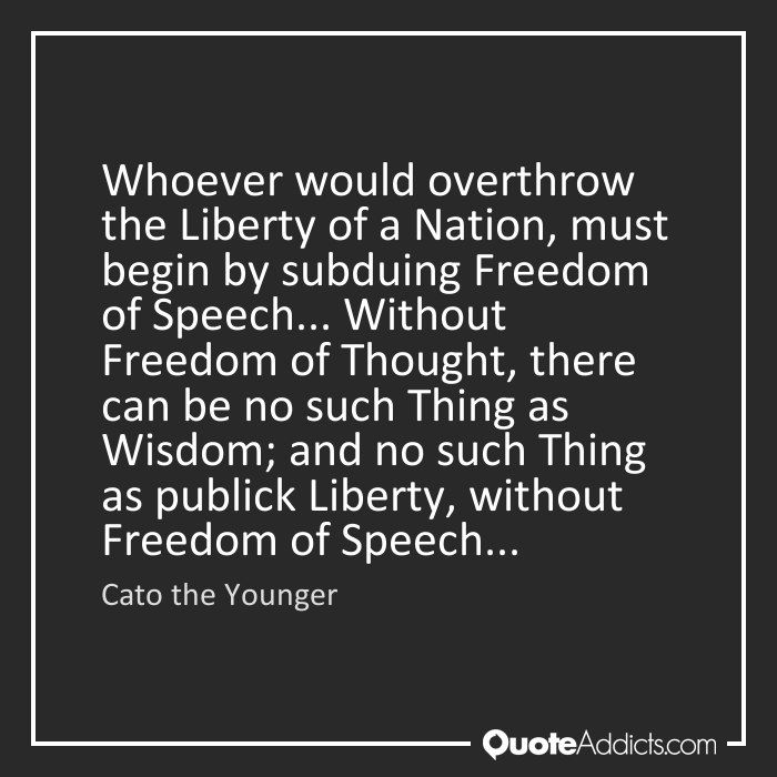 Quotes About Loss Of Liberty 35 Quotes