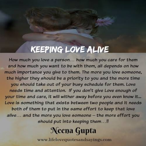 Quotes About Keeping Love Alive (23 Quotes