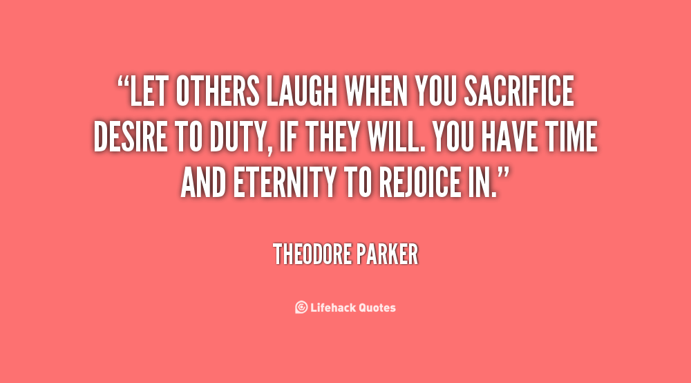 Quotes About Sacrifice For Others