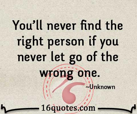 あなたのために正しい人を見つける
