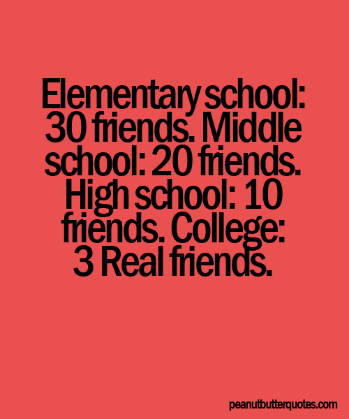 Quotes about Leaving high school friends (16 quotes)