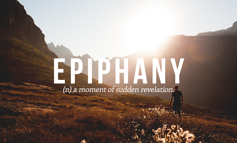 the use of epiphany in the
