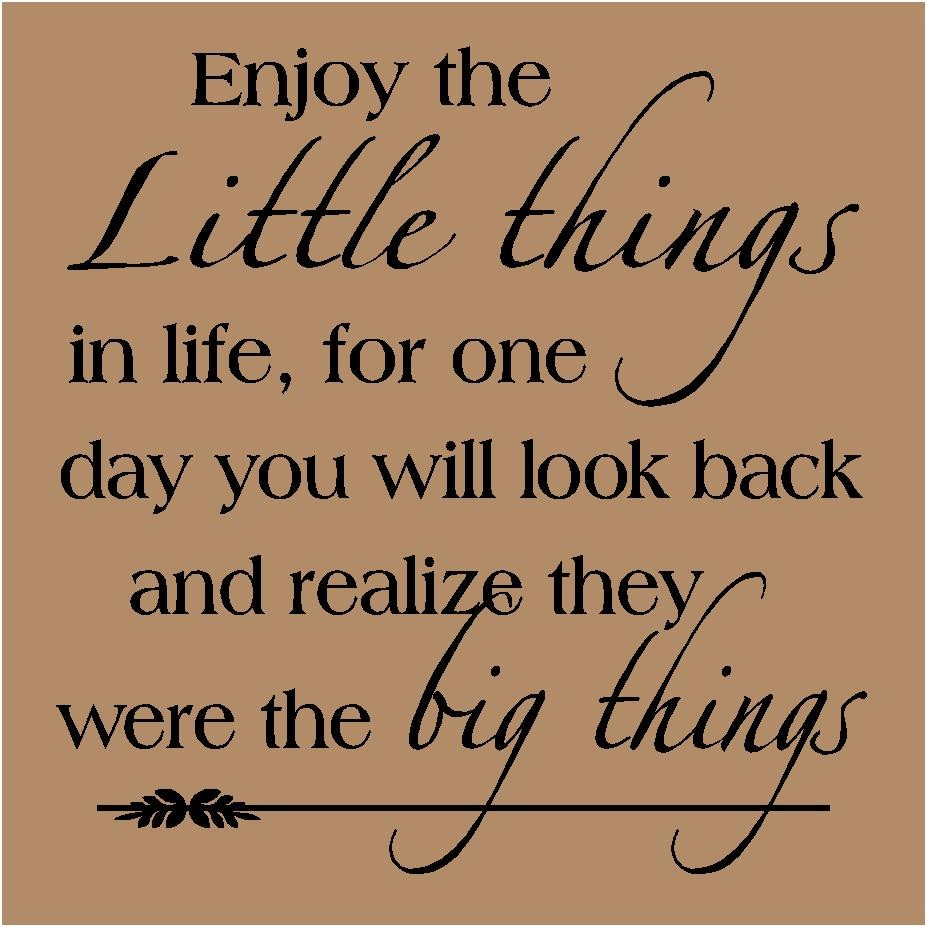 Image result for BEGIN WITH LITTLE THINGS