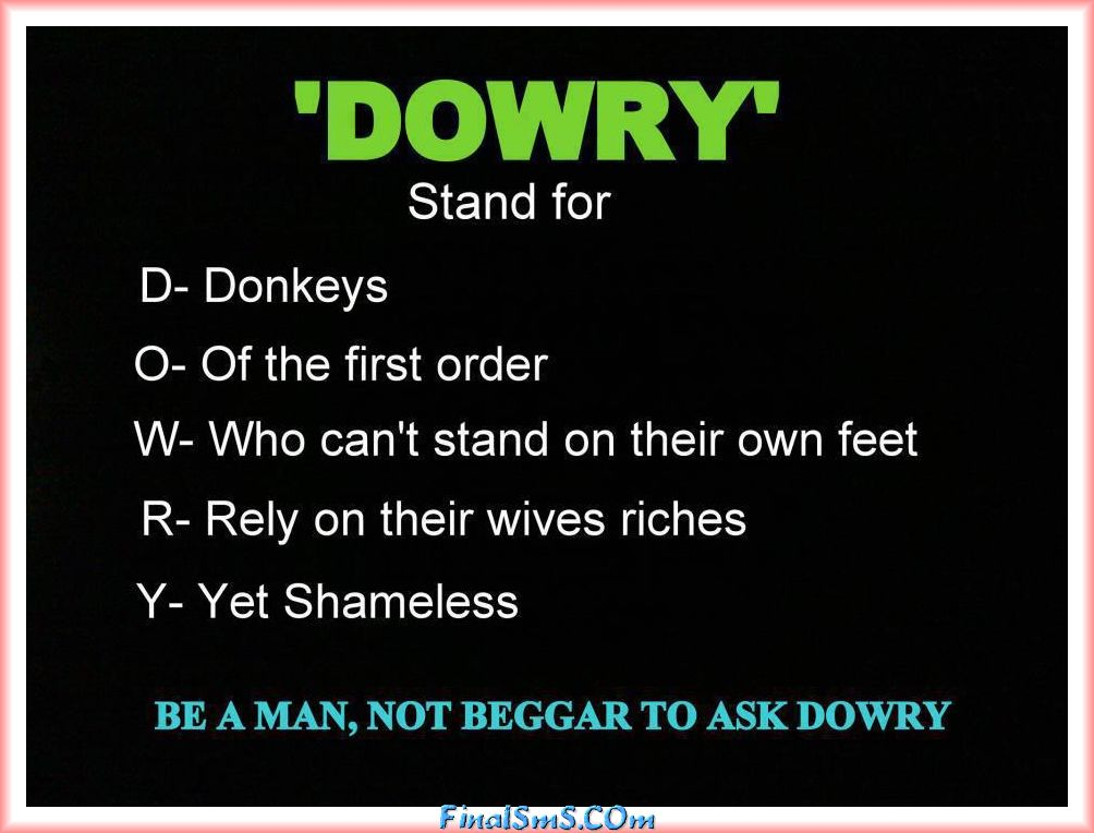 Quotes About Dowry 44 Quotes
