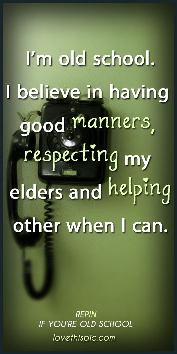 Quotes About Respect And Manners 39 Quotes