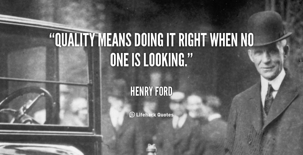 Quotes About Quality Henry Ford 60 Quotes Classy Ford Quote