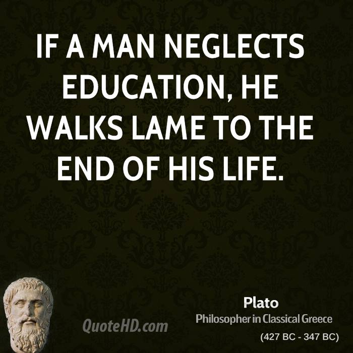 quotes about philosophy of education quotes