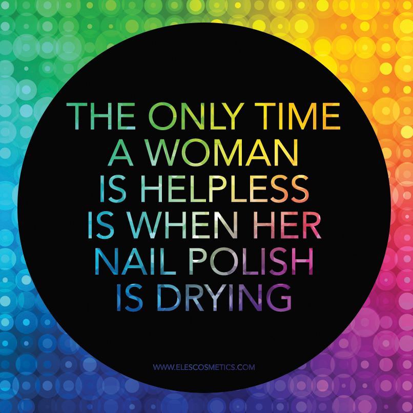 Quotes about Nail Polish (61 quotes)