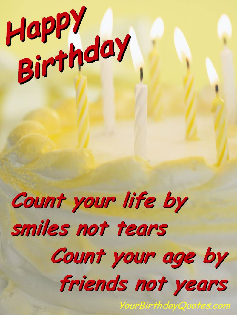 Birthday Greetings To A Friend Quote Image Collections Greetings