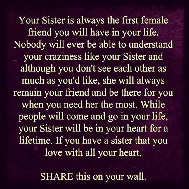 Quotes about Missing sister (11 quotes)