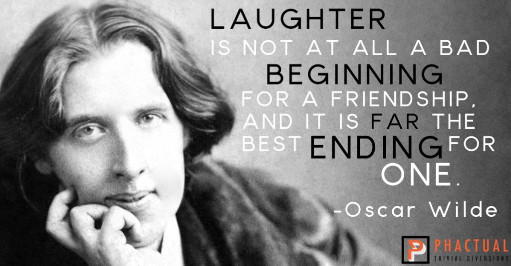 oscar wilde friendship quotes