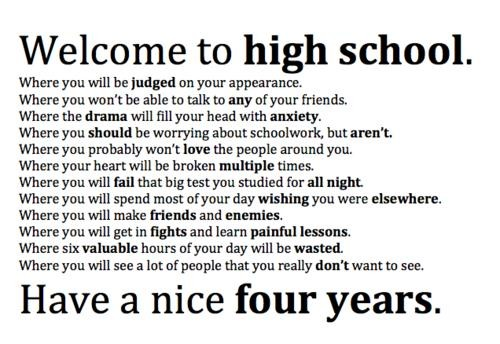 Quotes About High School Not Mattering 15 Quotes