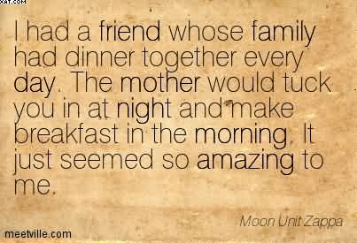 Quotes about Dinner and family 50 quotes