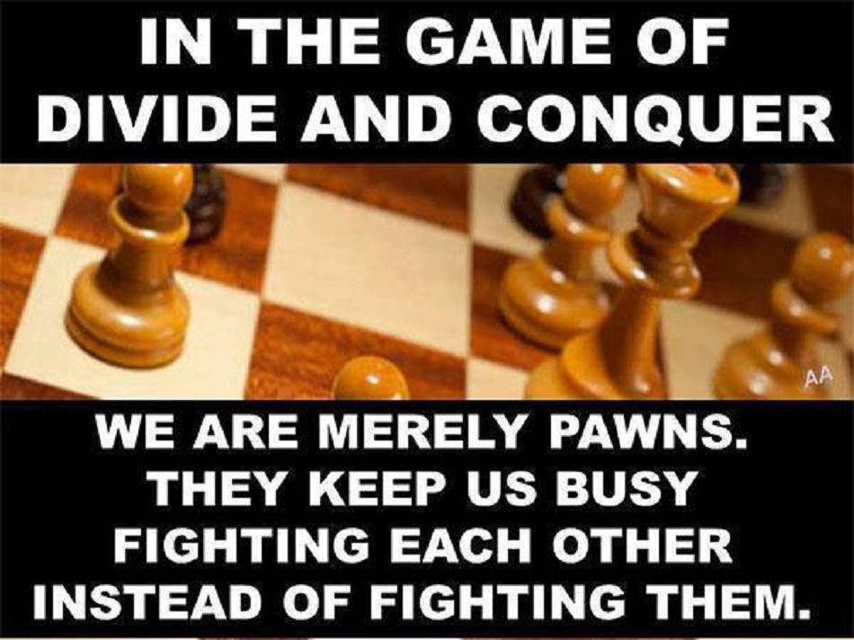 who said divide and conquer