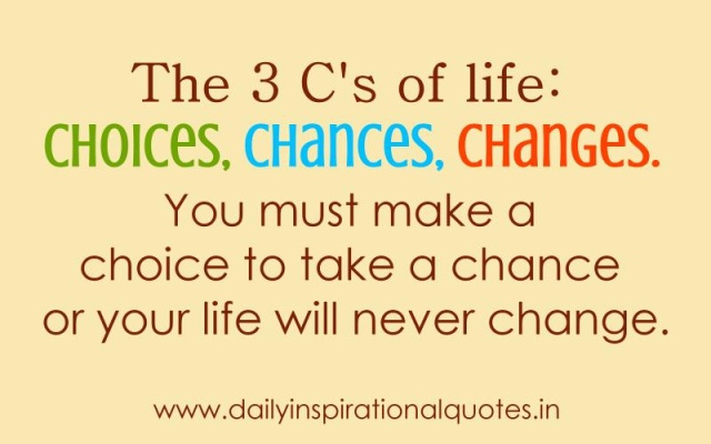 Quotes about Choices you make 220 quotes