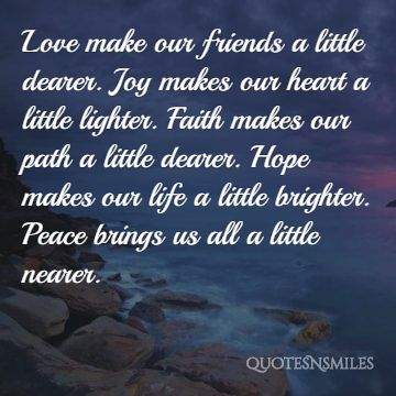 Peace And Love Quotes Delectable Quotes About Peace Love And Faith 48 Quotes