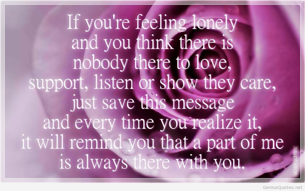 Quotes about Feeling Lonely (112 quotes)