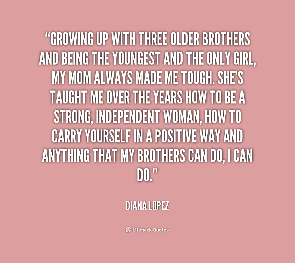 Quotes about Little brothers growing up (16 quotes)