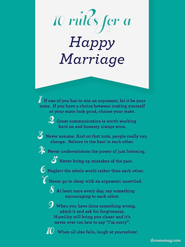 Tips for good communication in marriage