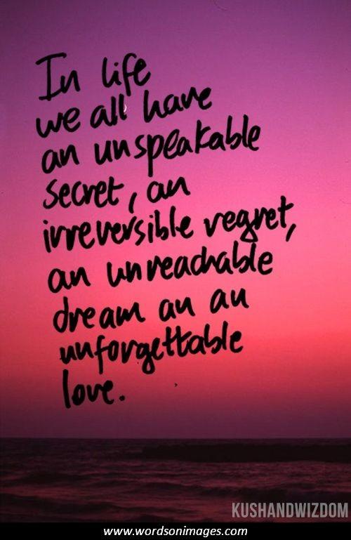 Quotes about Secret Love (185 quotes)