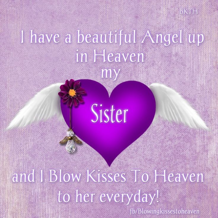 Quotes about Sister in heaven (21 quotes)