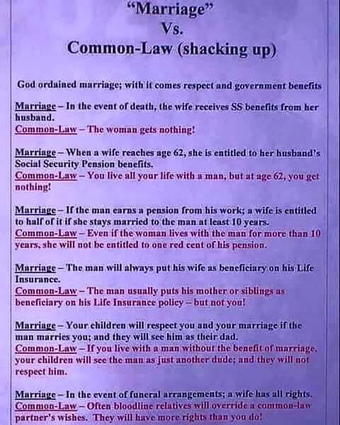 Who is common married to